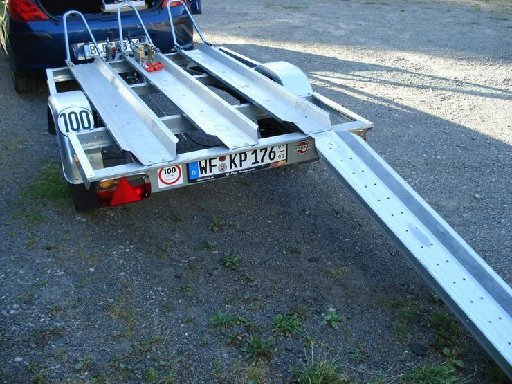 Bild 3: Motorradanhänger zu vermieten ab 8€/Tag
