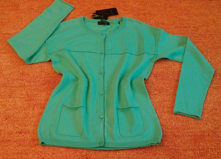 NEU Damen Jacke strick Cardigan Gr. 34