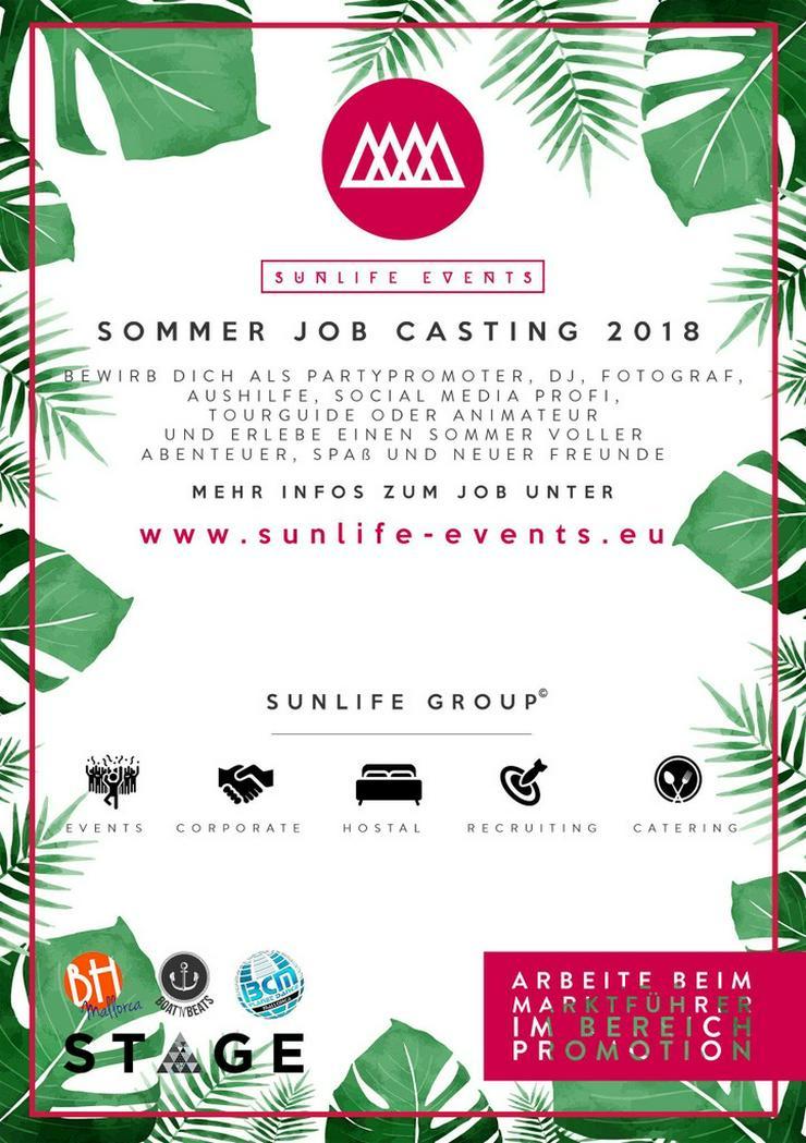 Promoter gesucht - Mallorca 2018