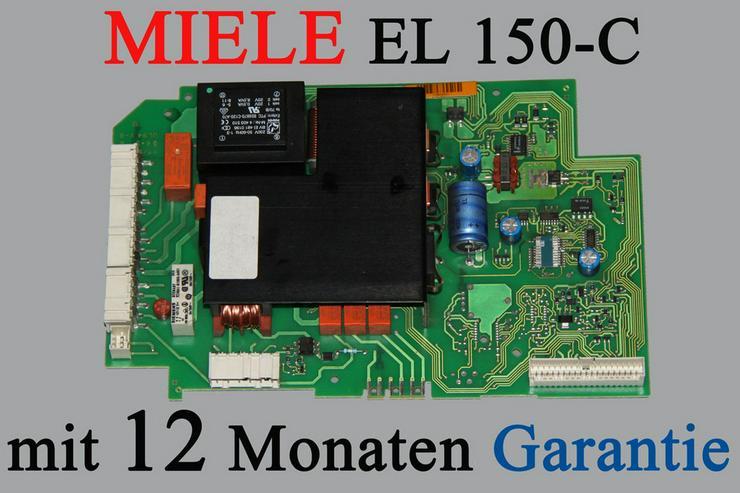 Reparatur Miele Steuerelektronik EL 150 C