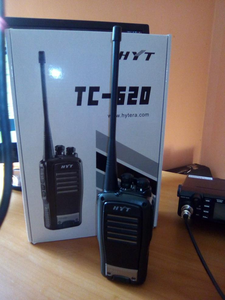 Bild 2: TC 620 Analoges hytera UHF Betriebsfunkgerät