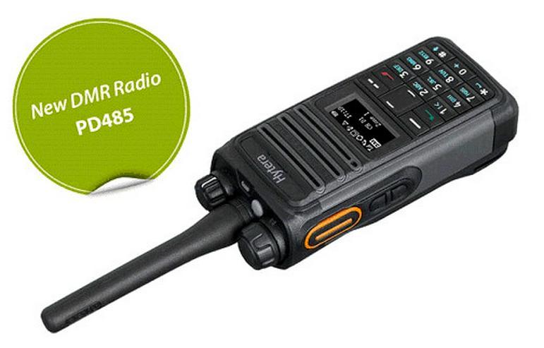 Bild 6: TC 620 Analoges hytera UHF Betriebsfunkgerät