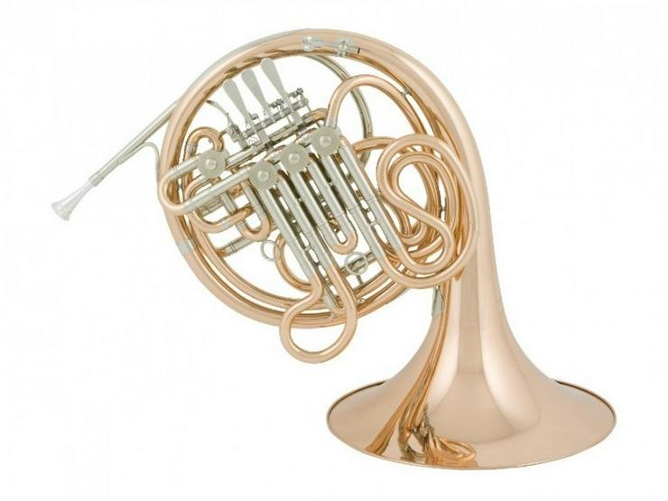 Bild 3: Cerveny Bb / F - Doppelhorn, Goldmessing 781F
