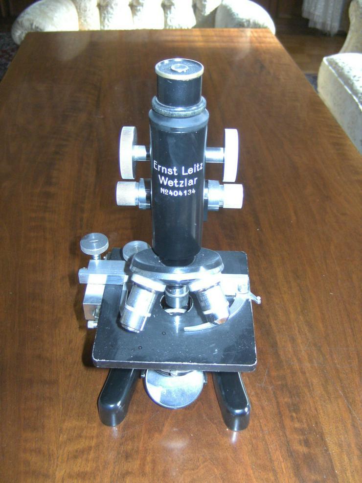 Mikroskop Ernst Leitz Wetzlar, No. 404134,