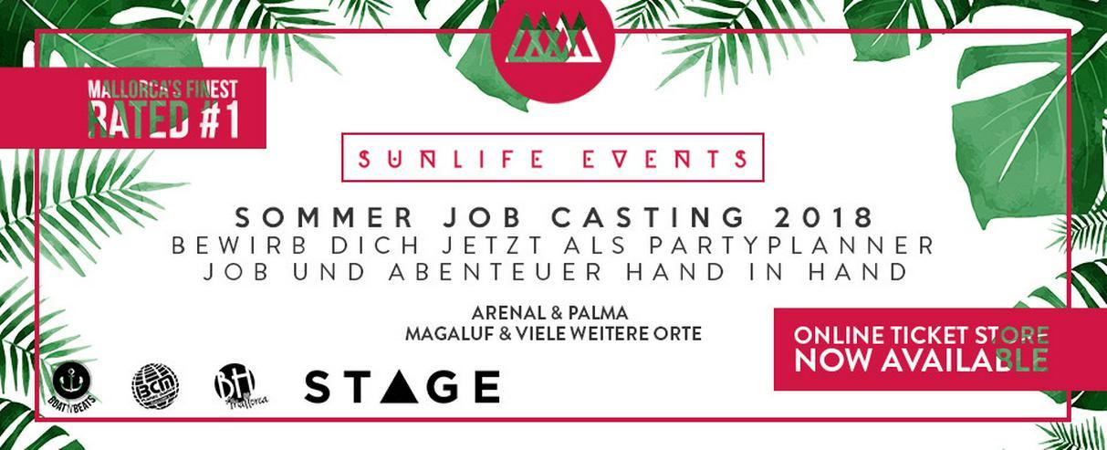 Promoter auf Mallorca 2018 gesucht - Sunlife - Vertrieb, Handel & Einkauf - Bild 1