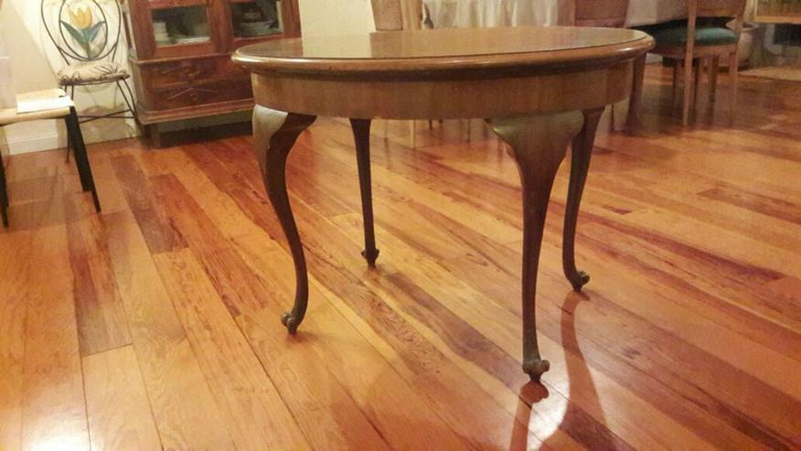 Biedermeier Tisch oval