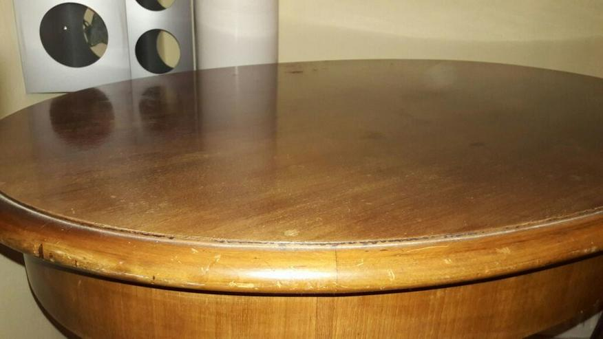 Bild 4: Biedermeier Tisch oval