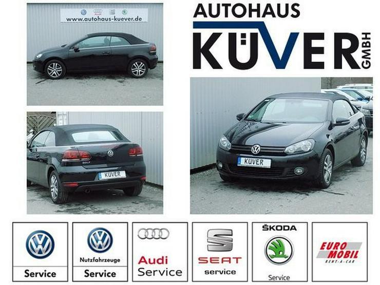 VW Golf Cabriolet 1,6 TDI Navi Sitzheizung Alu16'' - Golf - Bild 1