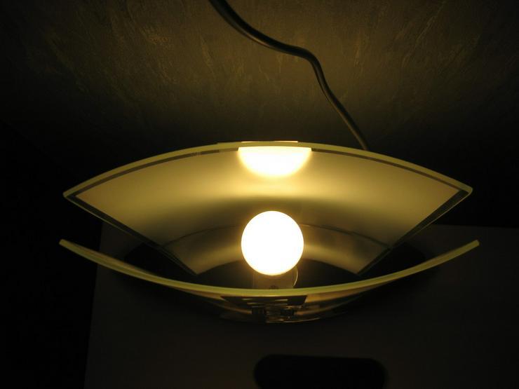 Bild 3: Lampe aus Glas und verchromt