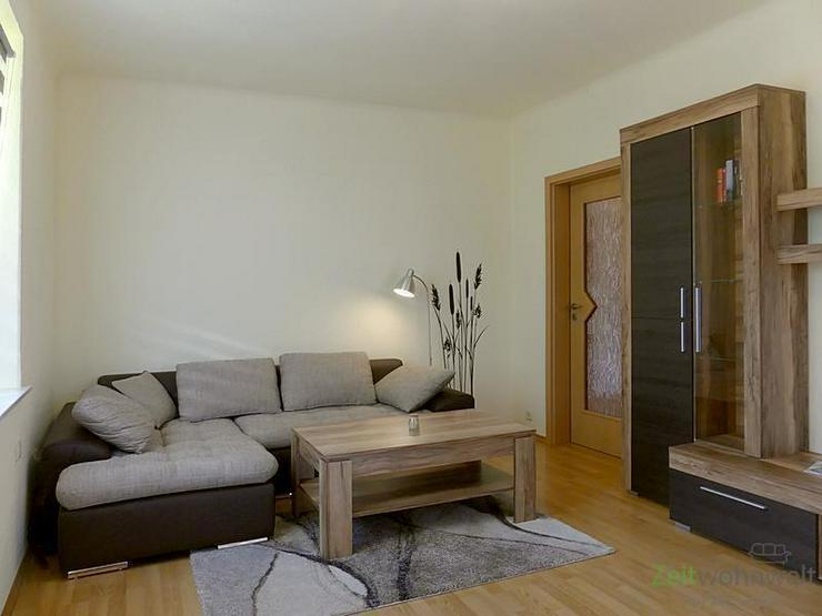Bild 4: (EF0338_M) Dresden: Klotzsche, TOP-möbliertes Apartment in ruhigem Wohnhaus mit grünem G...