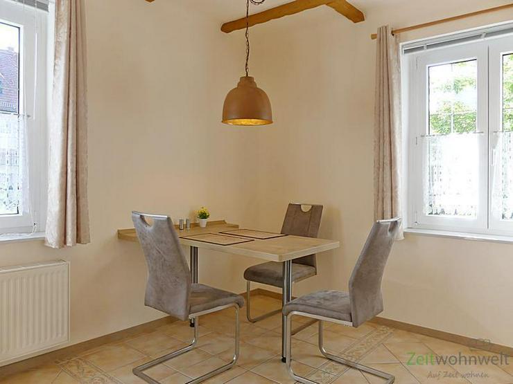 Bild 2: (EF0338_M) Dresden: Klotzsche, TOP-möbliertes Apartment in ruhigem Wohnhaus mit grünem G...