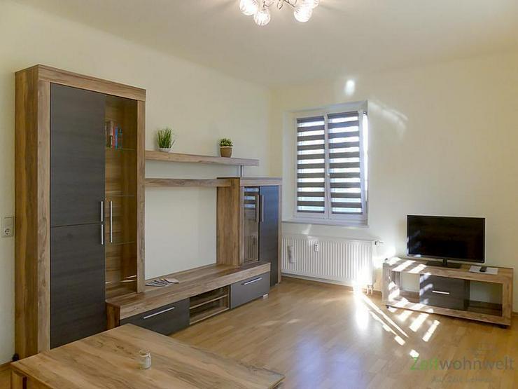 Bild 5: (EF0338_M) Dresden: Klotzsche, TOP-möbliertes Apartment in ruhigem Wohnhaus mit grünem G...