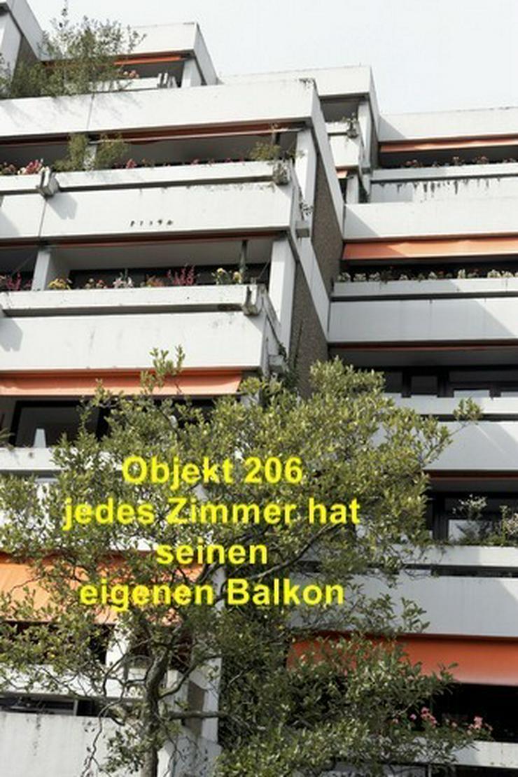 Bild 4: Zentrum löffelfertig Zimmer mit eigenem Balkon