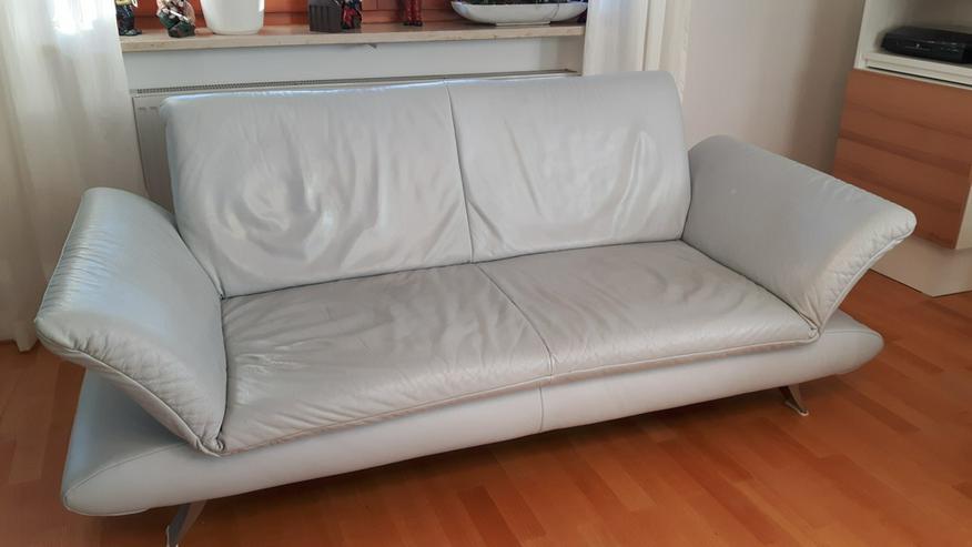 2 x Ledercouch - Sofas & Sitzmöbel - Bild 1