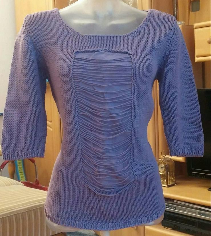 Damen Pullover Ausgefallener Lagenlock GR.38