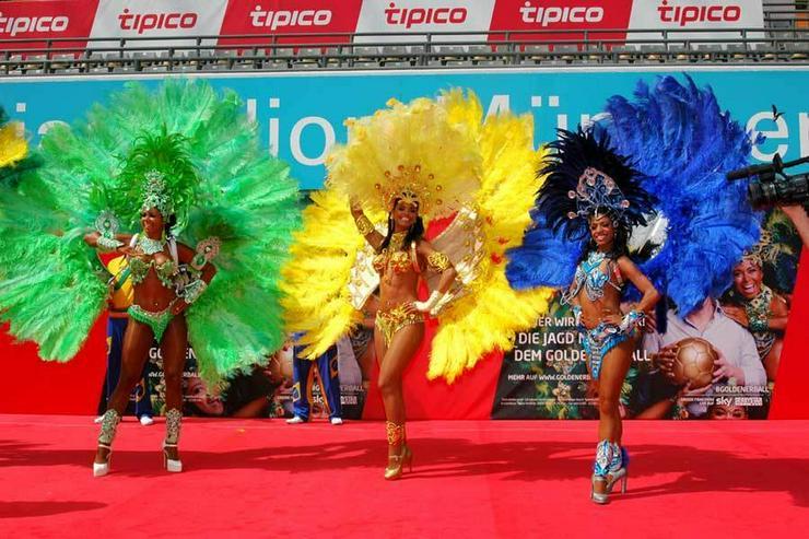 Bild 3: Samba-Tänzerinnen! Copacabana Sambashow Berlin