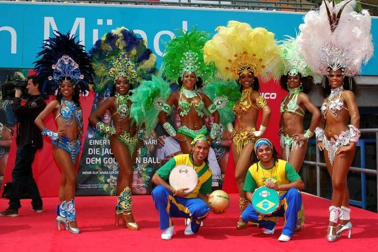 Bild 4: Samba-Tänzerinnen! Copacabana Sambashow Berlin