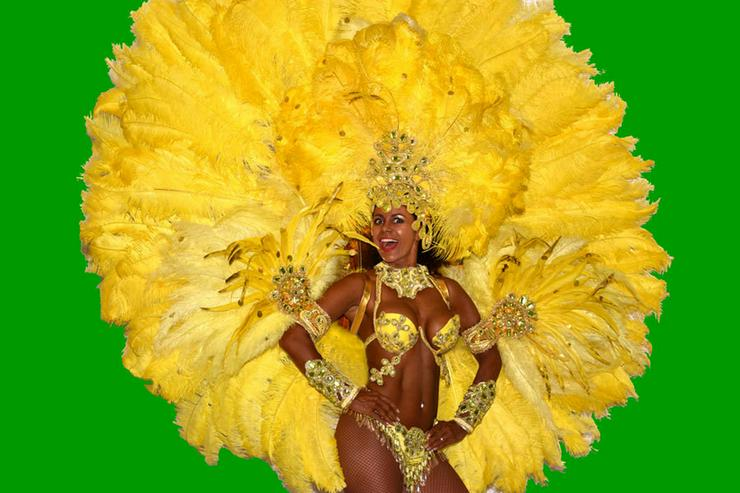 Samba-Tänzerinnen! Copacabana Sambashow Berlin