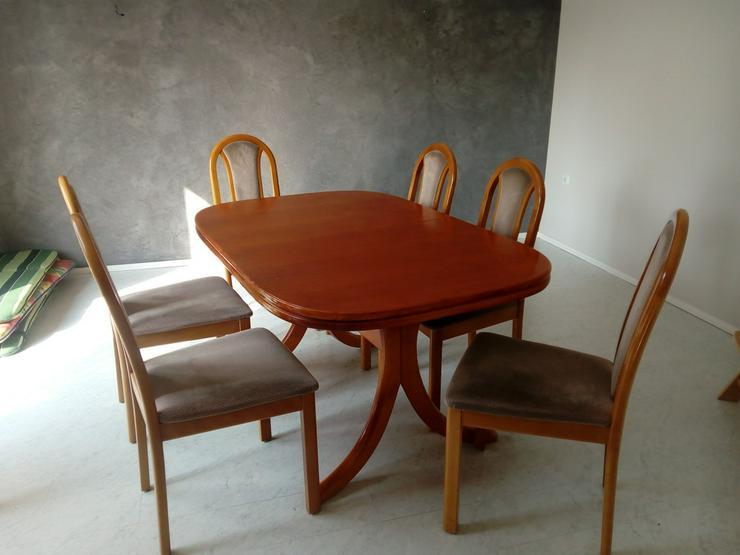 Esstisch Kirschbaum mit 6 Stühlen