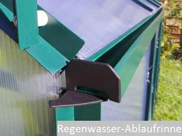Bild 3: Hochwertiges Gewächshaus Treibhaus ''TOM'' 190x370 Tomatenhaus inkl. Fundament NEU!