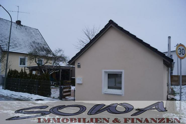 Bezahlbares Wohnen! Komplett saniertes kleines Einfamilienhaus in schöner Randlage. Brunn... - Haus kaufen - Bild 1