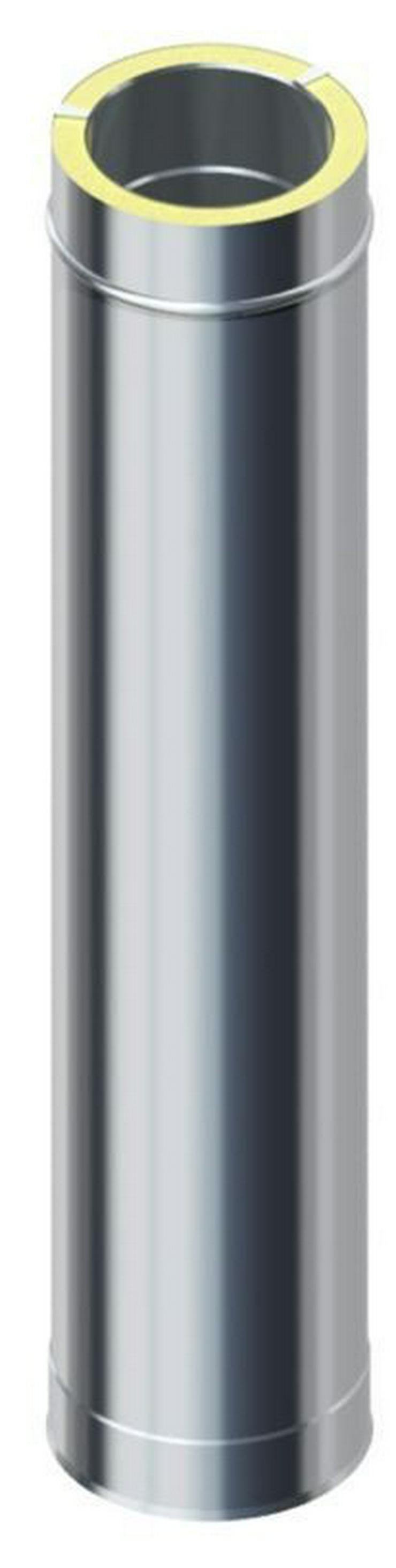 Bild 5: Edelstahlschornstein Bausatz Raab 4,2 m DW 150