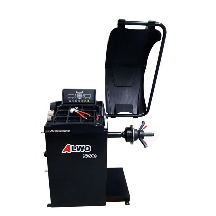 Alwo Reifenwuchtmaschine S200 bis 24 Zoll