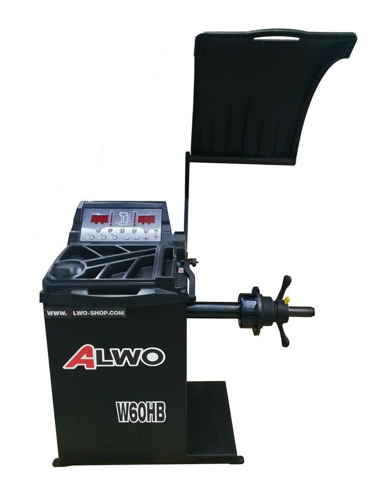 Alwo Reifenwuchtmaschine W60HB bis 24 Zoll