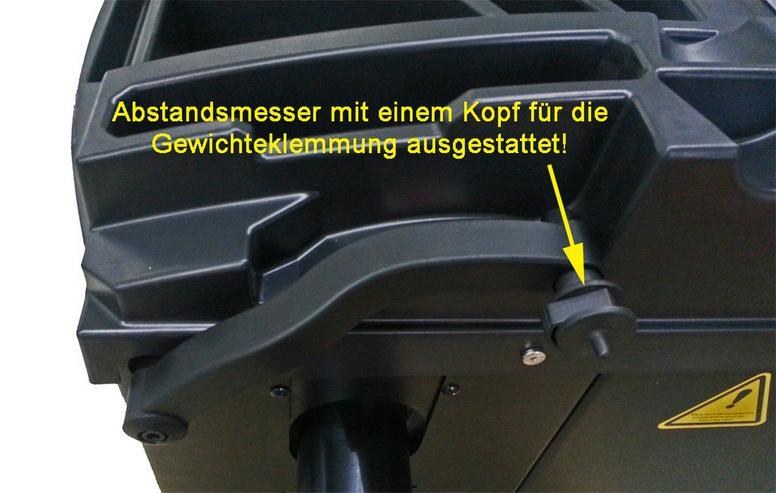 Bild 2: Alwo Reifenwuchtmaschine W60HB bis 24 Zoll
