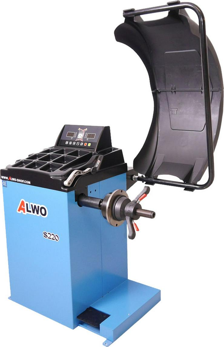 Alwo Reifenwuchtmaschine S220 bis 24 Zoll