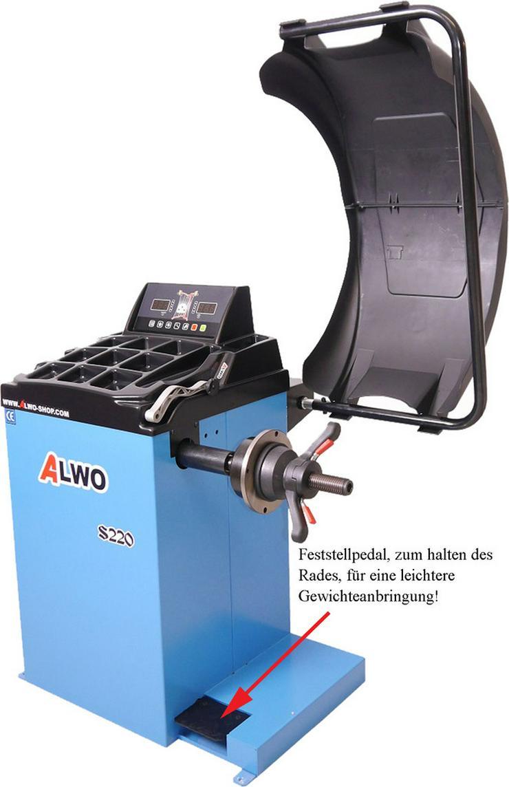 Alwo Reifenwuchtmaschine S220 bis 24 Zoll - Zubehör - Bild 2