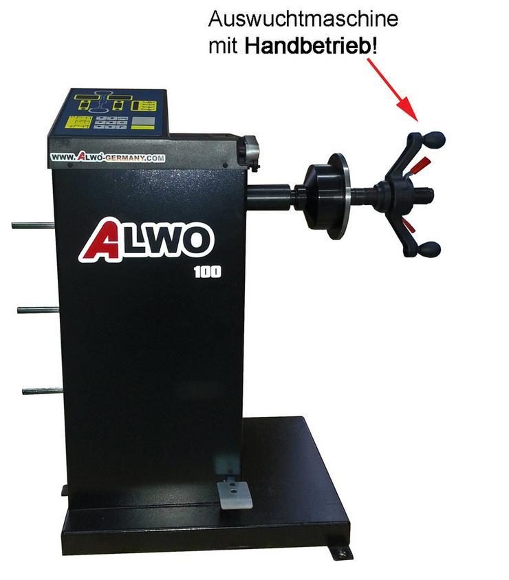 Bild 2: Alwo Reifenwuchtmaschine S100 bis 24 Zoll