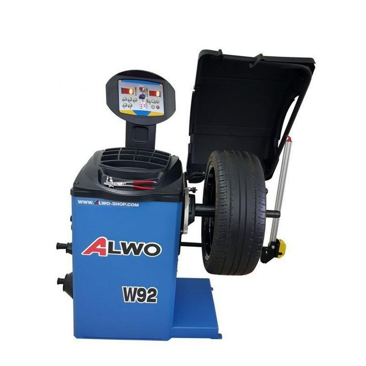 Alwo Auswuchtmaschine W92 BLUE Automatic - Bild 1