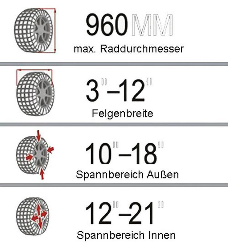 Alwo Reifenmontiergerät Alwo T521 bis 21Zoll - Zubehör - Bild 3