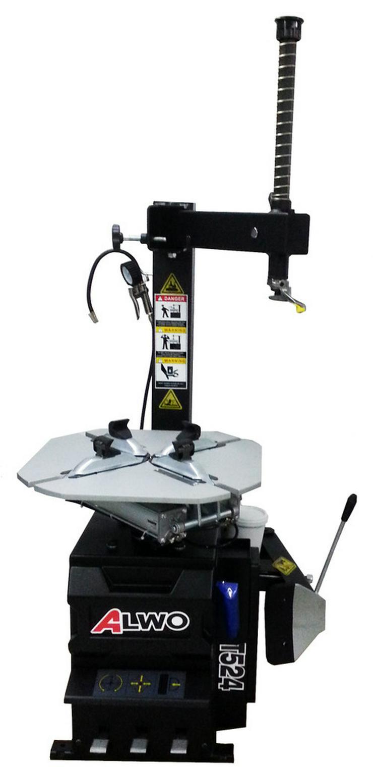 Alwo Reifenmontiermaschine T524 bis 24 Zoll