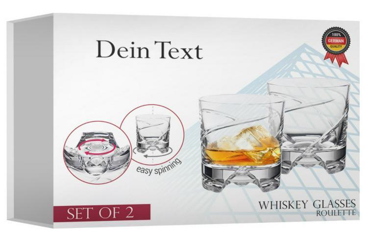 Bild 2: 2er Whiskeyset German Roulette, Bleikristall