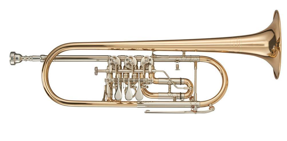 Kühnl & Hoyer Konzert - Trompete Mod. 6010G Neu - Blasinstrumente - Bild 1