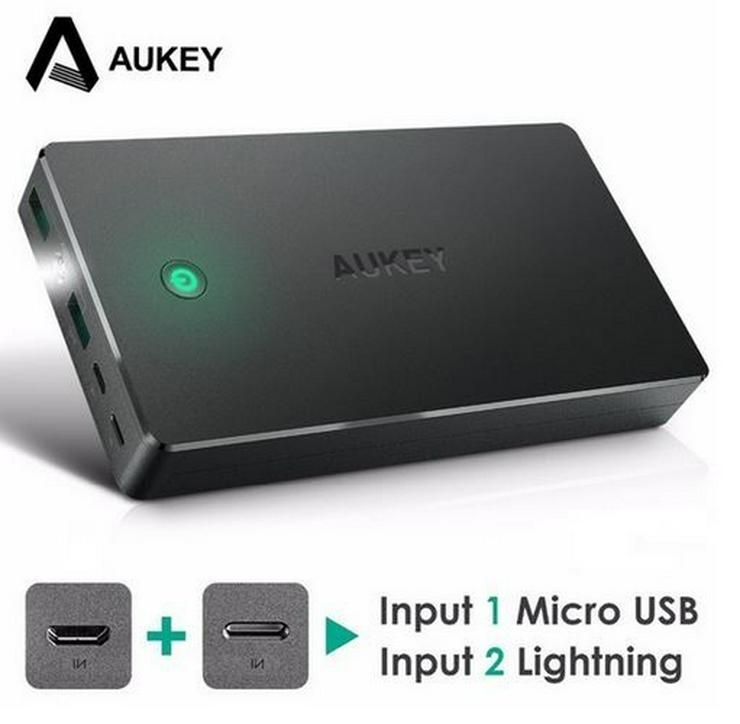 20000 mah Powerbank inkl. Micro-USB-Kabel