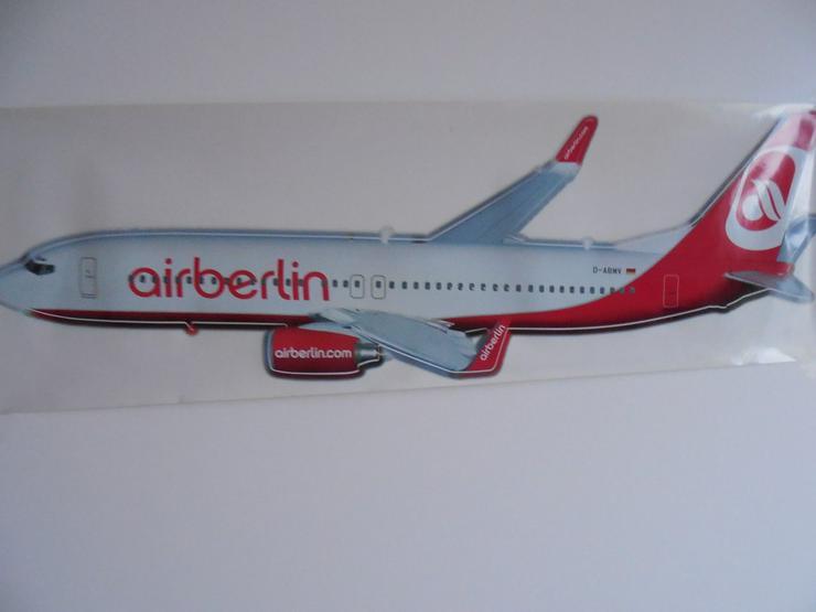 Bild 2: Air Berlin Flugzeug Aufkleber