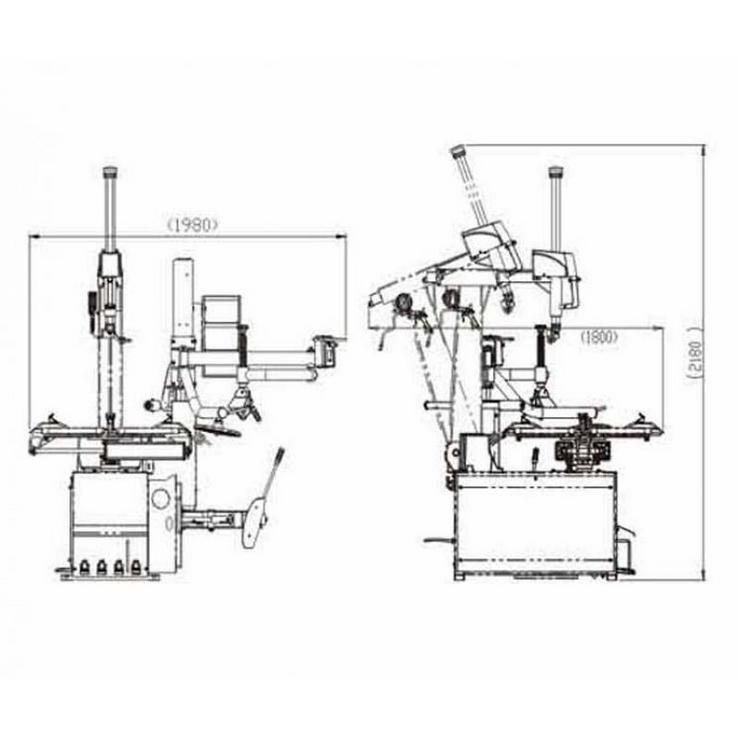 Bild 6: Alwo Montiermaschine T626R bis 26 Zoll