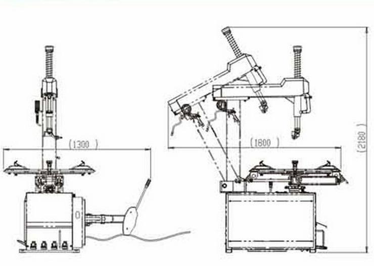 Bild 6: Alwo Montiermaschine T624 24 Zoll AUTOMATIK