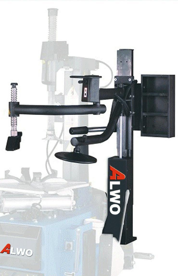 Bild 2: Alwo Montiermaschine T624R AUTOMATIK Hilfsarm