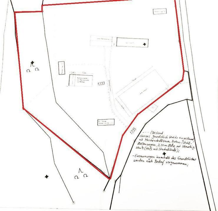 Bild 11: Einmalige Chance: Alleinlage mit Baurecht, Grundstück zur Pferdehaltung!