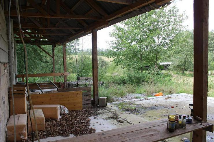 Bild 2: Einmalige Chance: Alleinlage mit Baurecht, Grundstück zur Pferdehaltung!