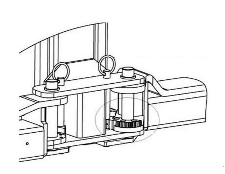 Bild 3: Alwo 2 Säulen Hebebühne 4x3tlg. BLACK