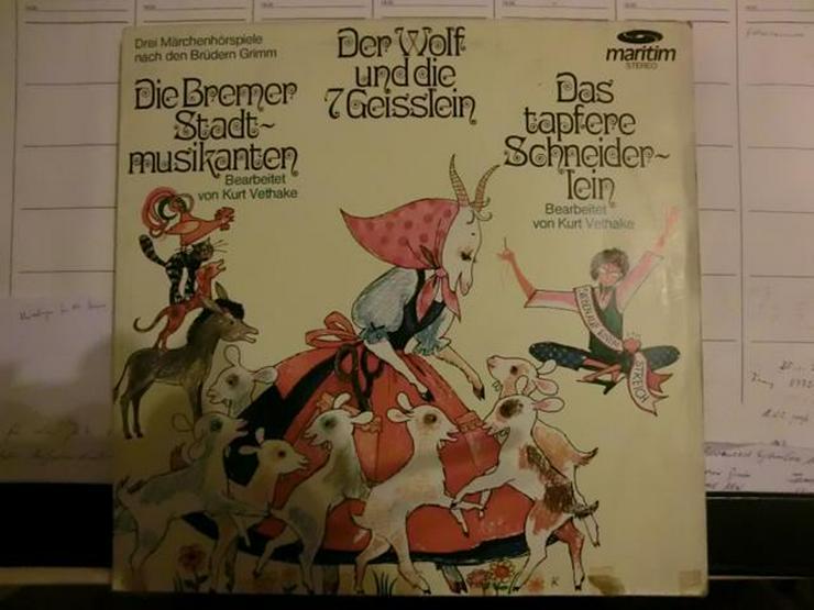 LP Schallplatten für Kinder