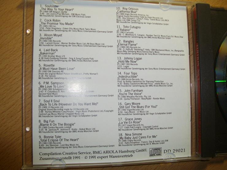 Bild 3: CD KENDO: 18 ORIGINAL POP HITS, tanzbar, klasse