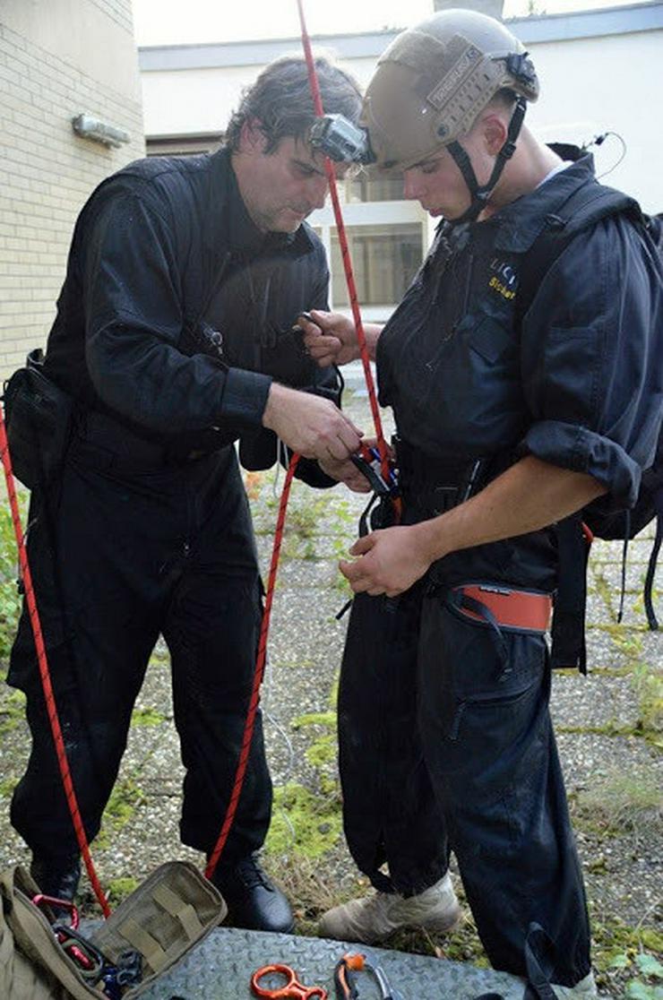 Bild 4: Grundausbildung Sicherheitskraft