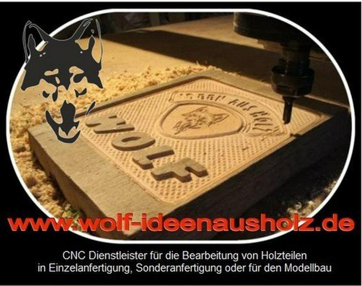 Holzbearbeitung mit CAD/CAM - CNC Fräse