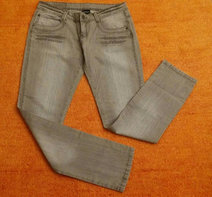 NEU Damen Hose Verwaschener Optik Gr.42 - W29-W31 / 40-42 / M - Bild 1